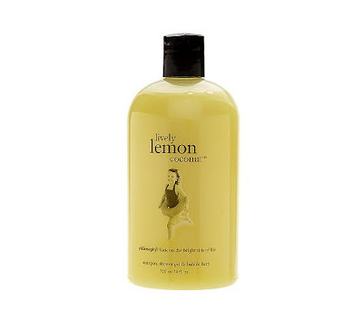 philosophy+lively+lemon+coconut+shower+gel+qvc Philosophy Shower Gel of the Month at QVC
