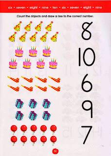 atividades com numeros em ingles para imprimir