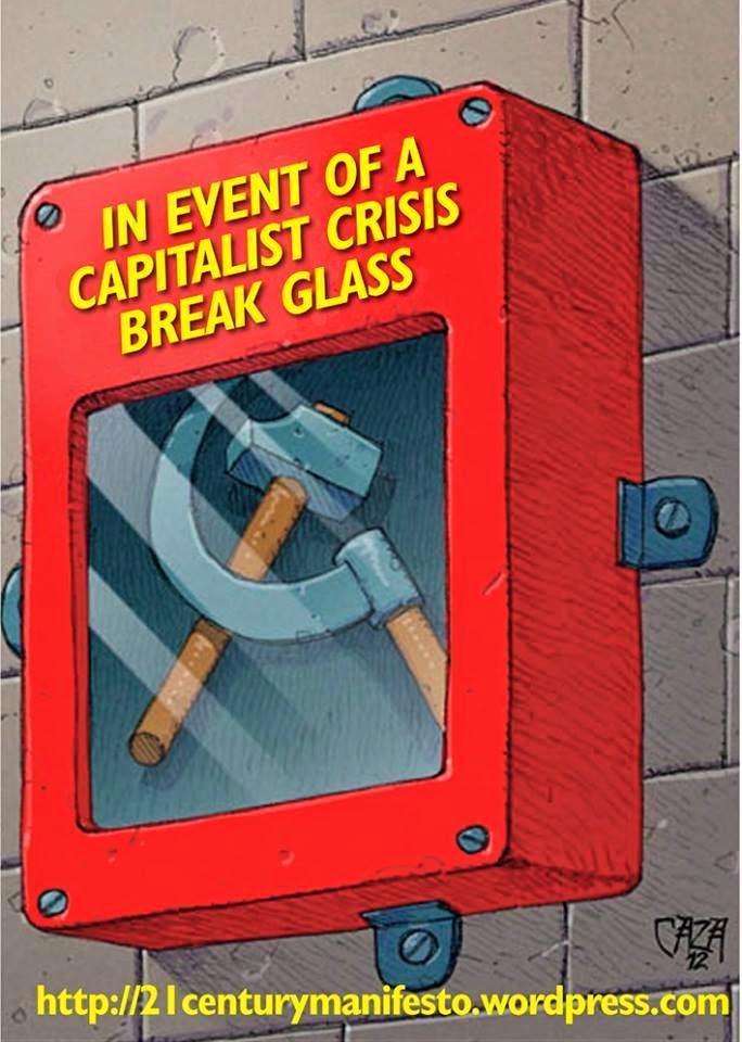 En caso de crisis capitalista abrir