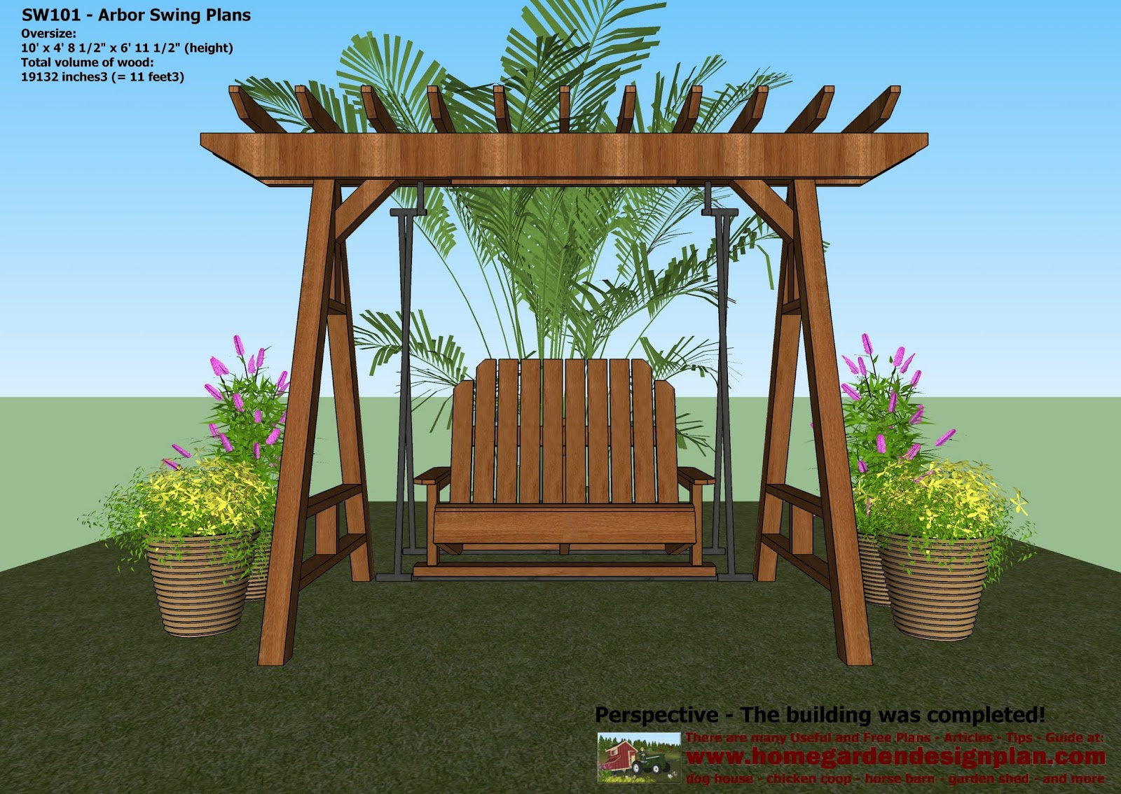Work With Wood Project Know More Garden arbor woodworking