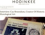 Interview: Cay Broendum, Creator Of Historic Horological Art