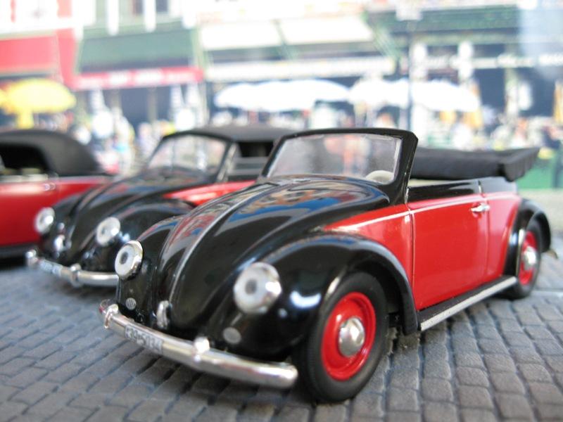 Garage de poche karmann ghia version n erlandaise diorama for Garage volkswagen persan
