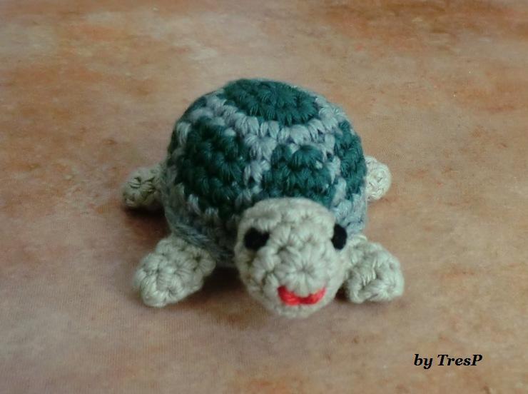 TresP craft blog: TORTUGA AMIGURUMI CON PATRÓN