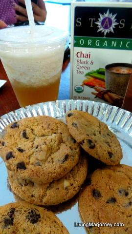 Organic Chai Tea at Green Bean Coffee