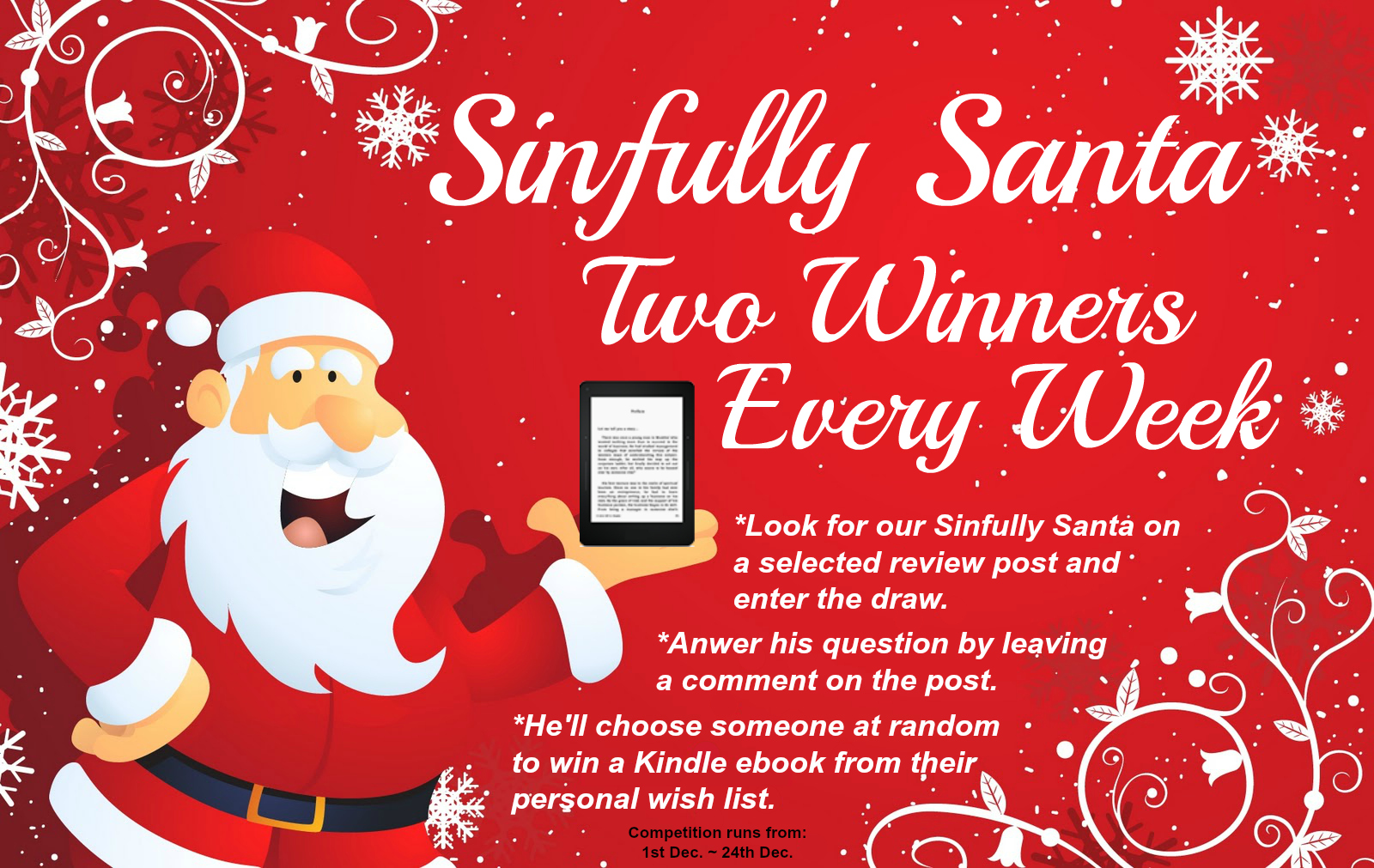 SINFULLY SANTA IS BACK!
