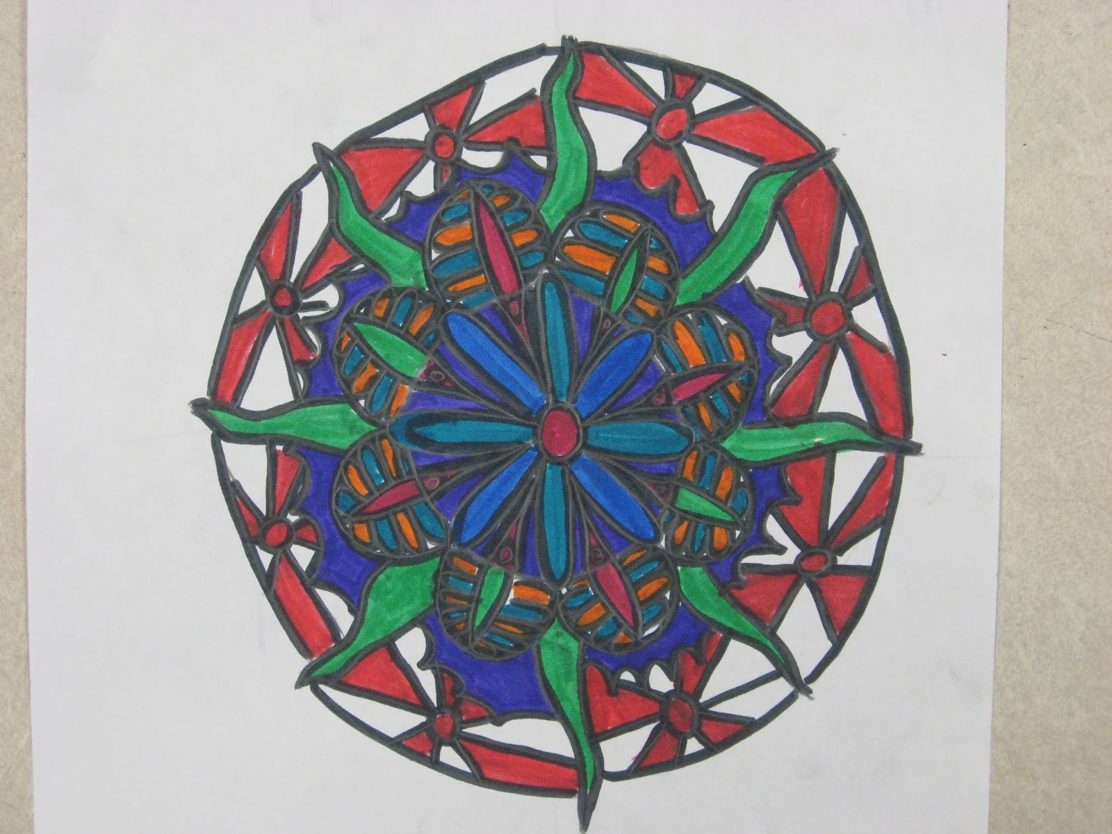 Miss Young\'s Art Room: More Mandalas!
