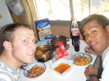 Mexican Lunch with Elder Martinez