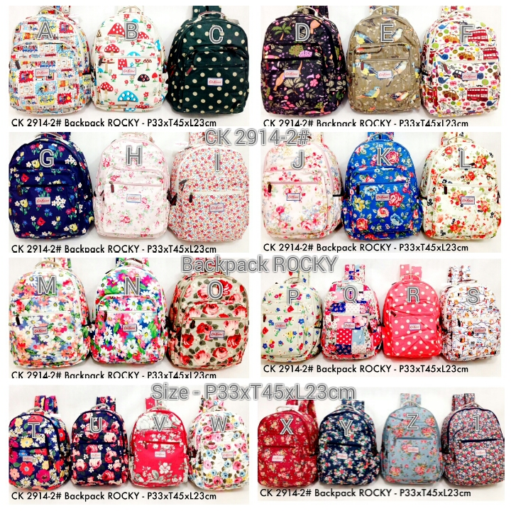 6798a37d76 Kipling Shop Indonesia  Cath Kidston 2914-2  Backpack ROCKY - Rp ...