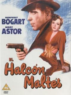 El halcón maltés, con Humphrey Bogard
