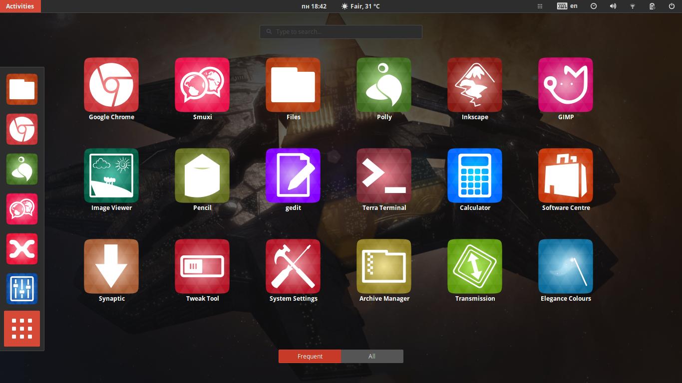 Google theme ubuntu - Numix Utouch
