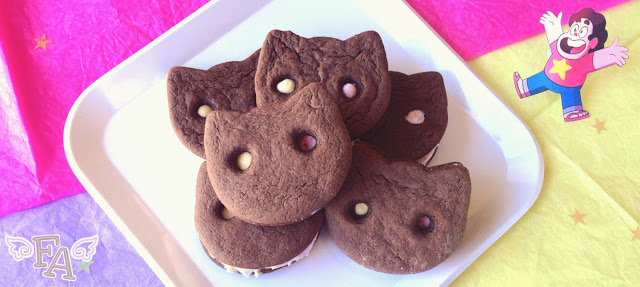 Fiction Food Caf 233 Cookie Cat Ice Cream Sandwiches From