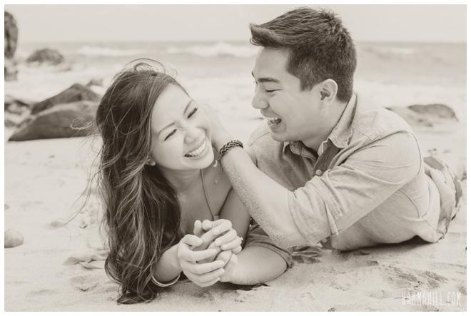 Maui Engagement Portrait