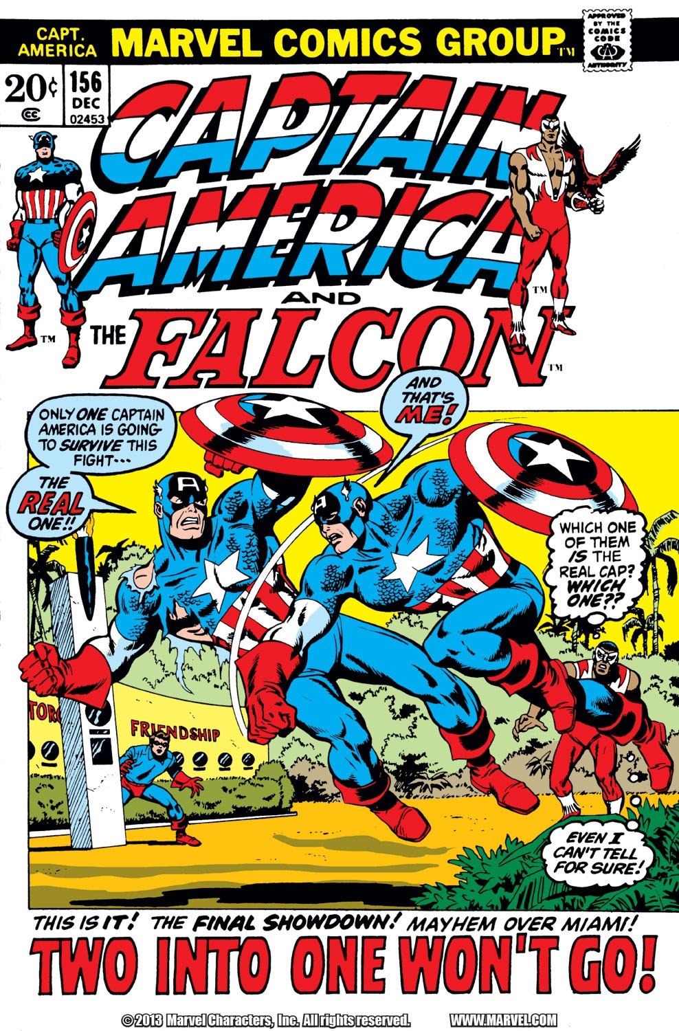 Captain America (1968) Issue #156 #70 - English 1