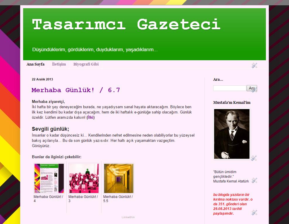 Eski Blog