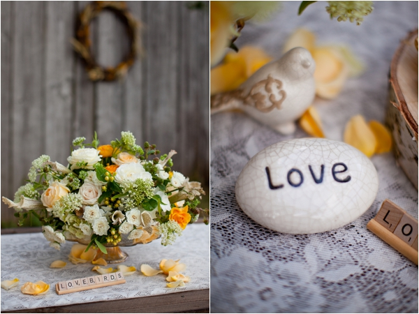 Longhorn Ranch Inspiration Shoot by K.Lindmeier Photography via www.lemagnifiqueblog.com // #wedding #centerpiece