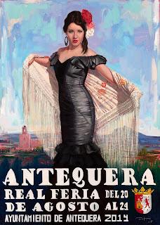 Antequera - Real Feria de Agosto 2014 - Cartel de Juan Antonio Pinto Machuca