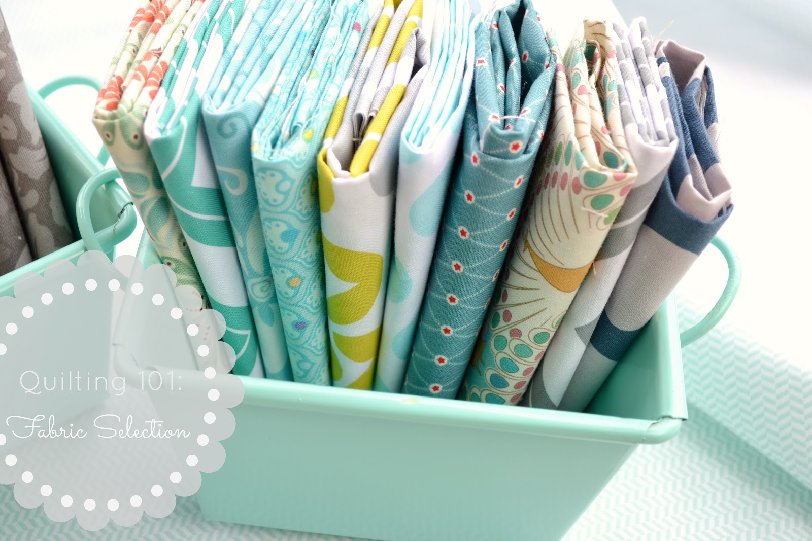 The Aqua House: Quilting 101: Fabric Selection : how to store quilting fabric - Adamdwight.com