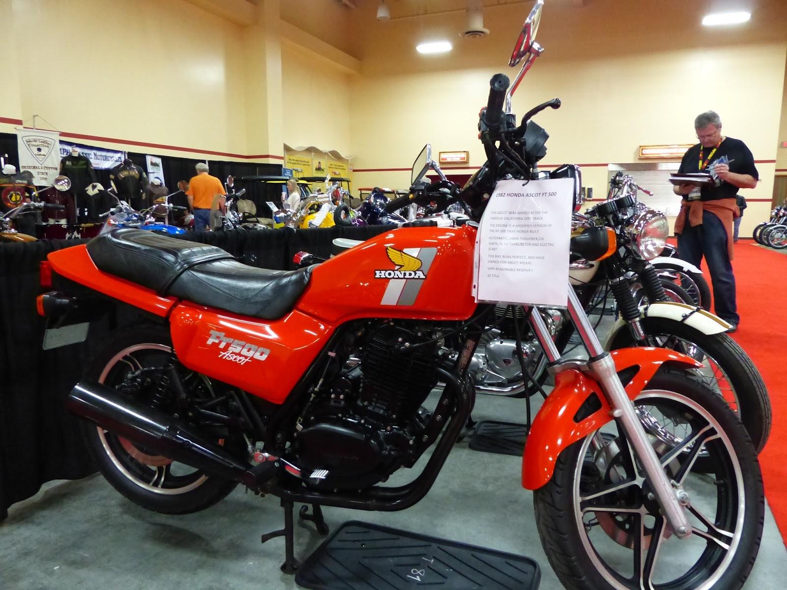 OldMotoDude: 1982 Honda FT500 Ascot sold for $2,500 at the ...