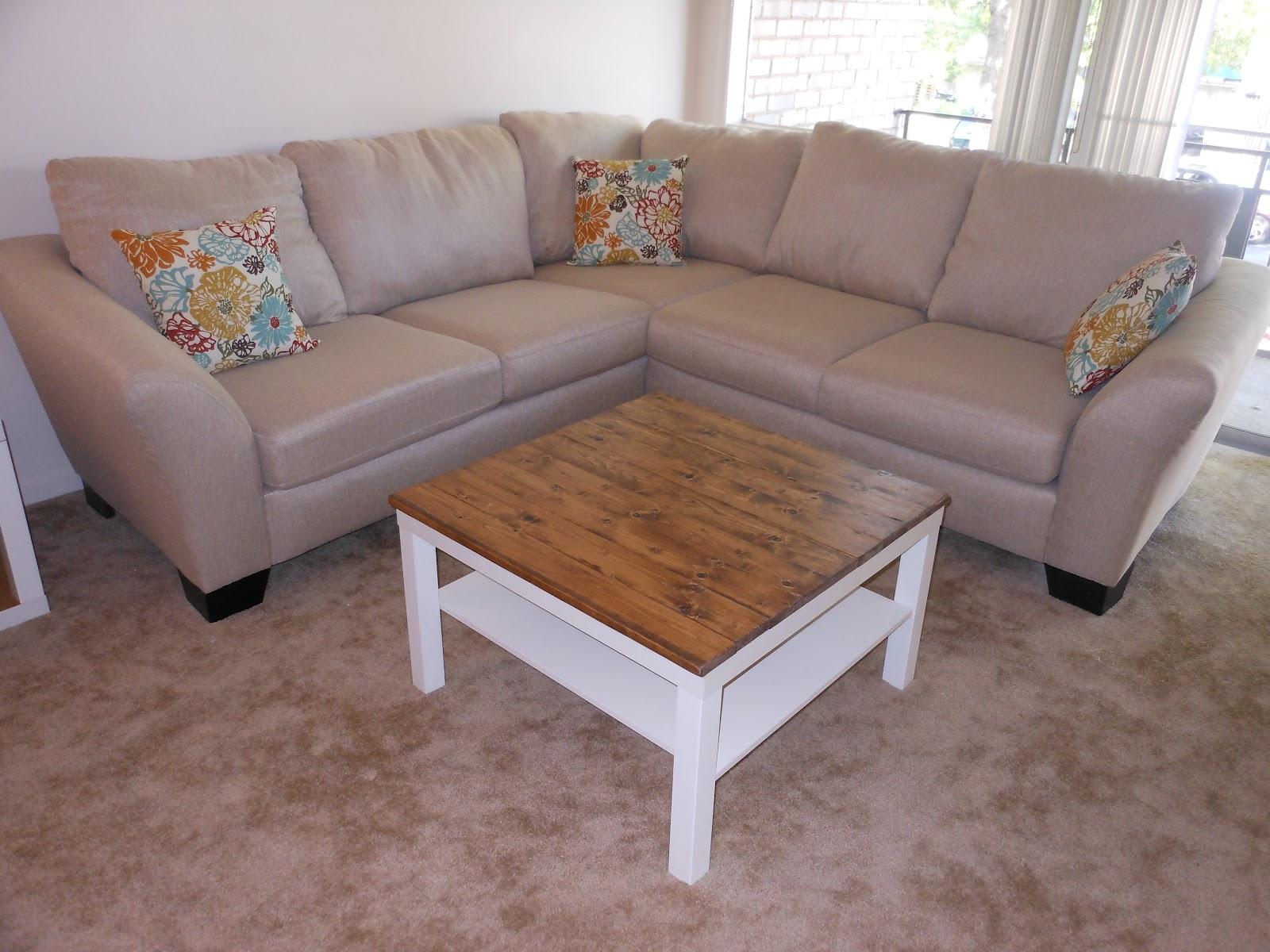 Decor dilettante ikea lack coffee table re do - Ikea table lack ...
