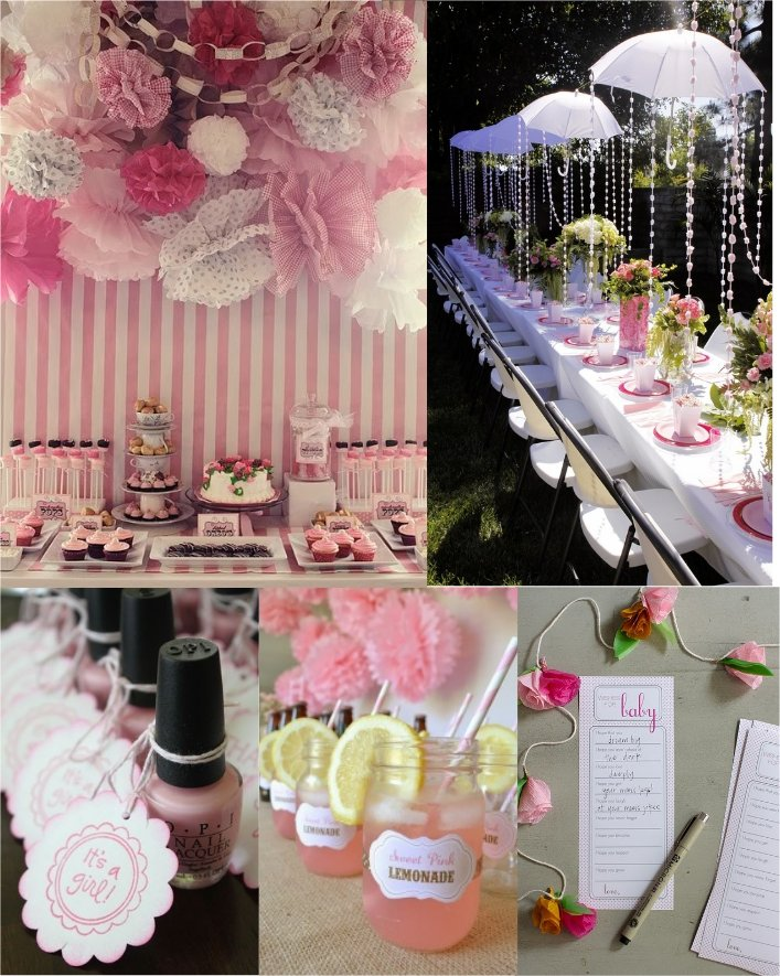 festive finds by Event Finds: Girl Baby Shower Ideas