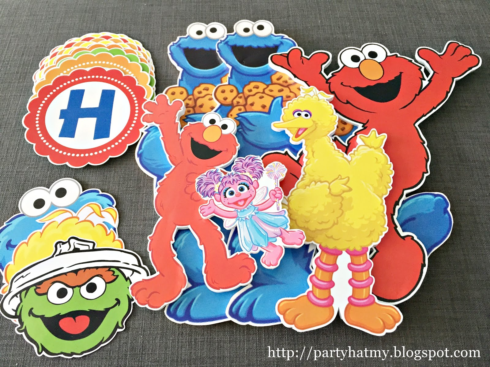Sesame Street Decor RM50 (Used once, good condition)