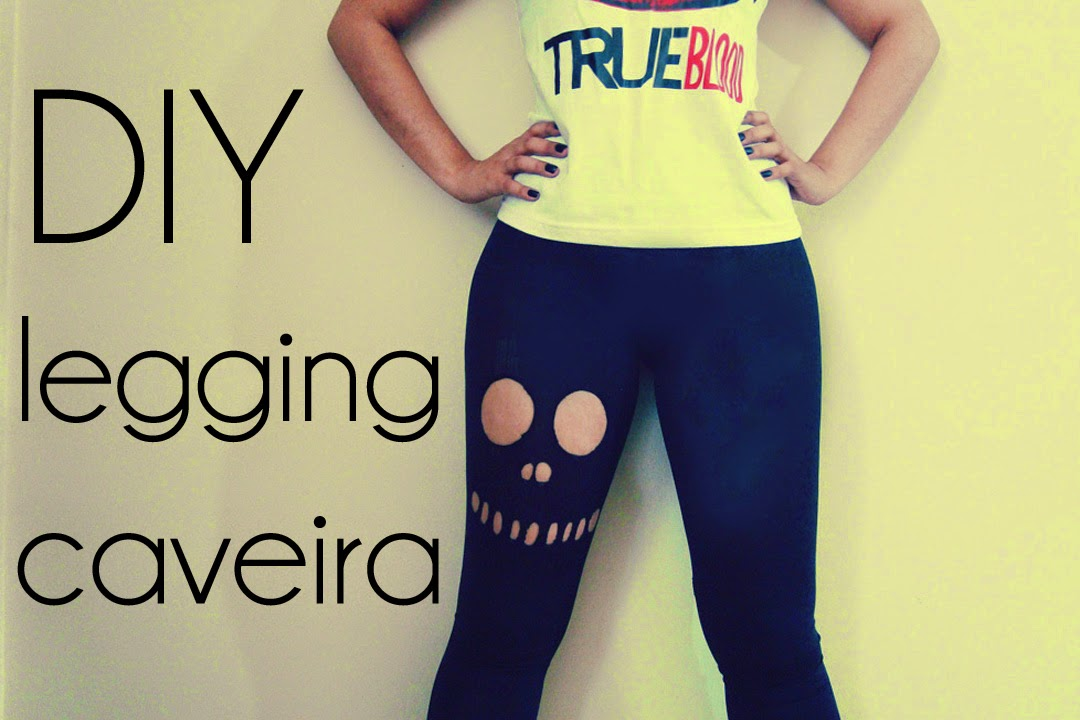 DIY: Legging Caveira