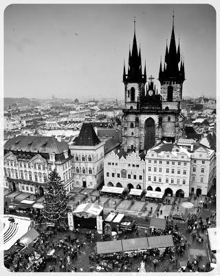 Pocztówka z Pragi, Stare Miasto. fot. Łukasz Cyrus, Ruda Śląska.