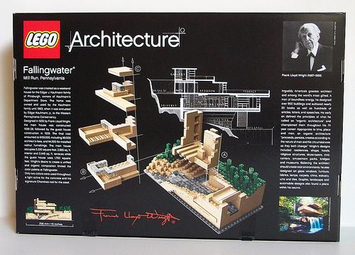 Lego Architecture Fallingwater 210055
