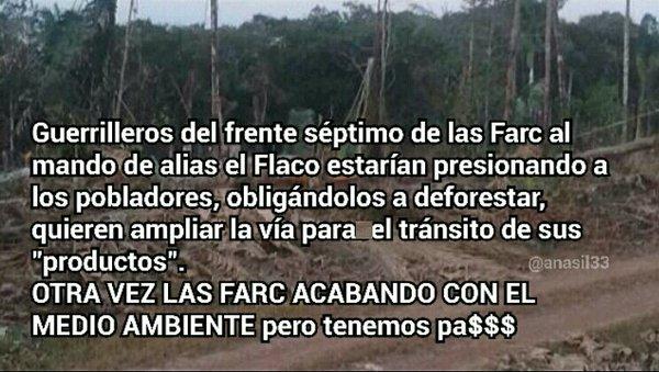 de nieuwe rol van de FARC