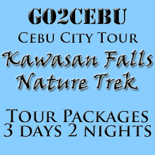 Cebu City + Kawasan Falls Nature Trek in Cebu Tour Itinerary 3 Days 2 Nights Package