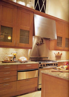 Contemporary wood kitchen cabinet pictures