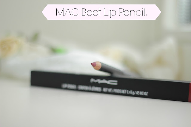 MAC Beet lip pencil review swatches