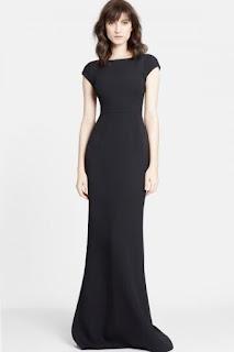 Dolce&Gabbana Cap Sleeve Cady Gown