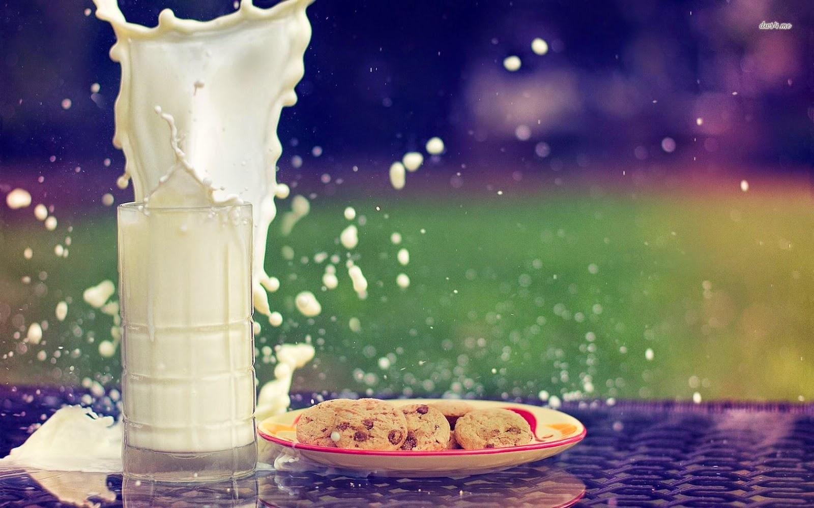 الحليب كامل الدسم لزيادة الوزن
