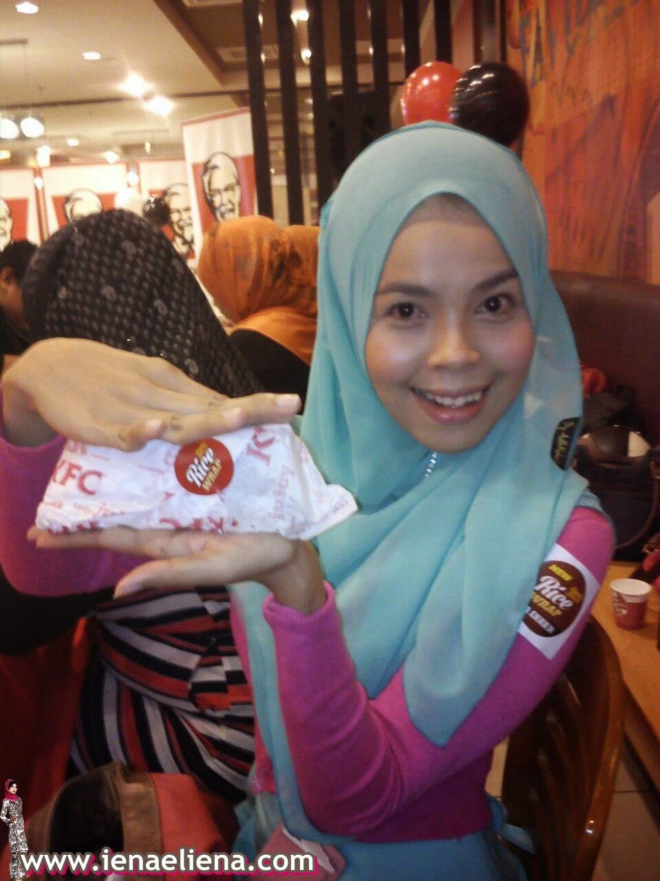 KFC Zinger Rice Wrap