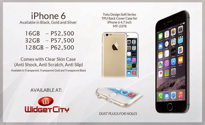 apple iphone 6 and iphone 6 plus now available in the ph via widget city price starts at php51500