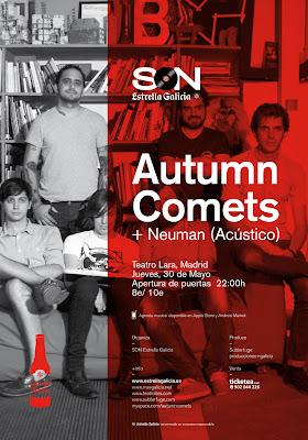Teatro Lara Madrid Autumn comets neuman