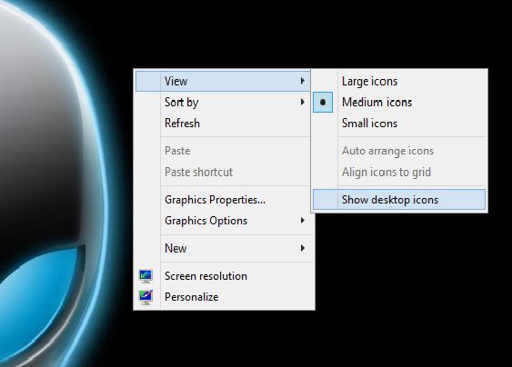 Sow Desktop Icons
