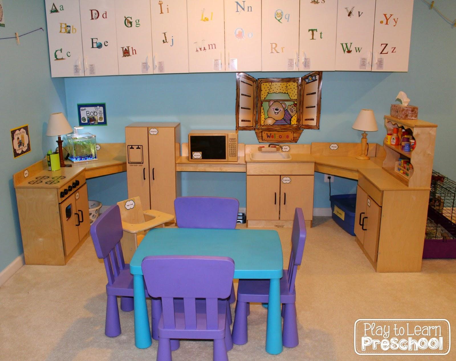 Preschool Kitchen Furniture Play To Learn Preschool Kitchen Refresh
