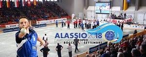 Du 27 au 30 septembre 2018, Euro masculin, Alassio 2018