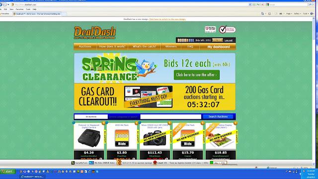 DealDash Shopping Spring Clearance Sales