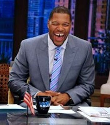 Strahan and his gap-toothed laugh