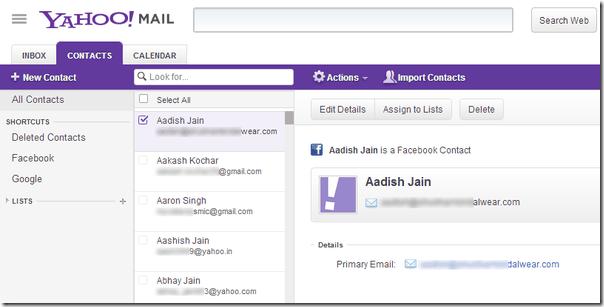 كيفية الحصول على ايميلات Email Address اصدقائك فى الفيس بوك