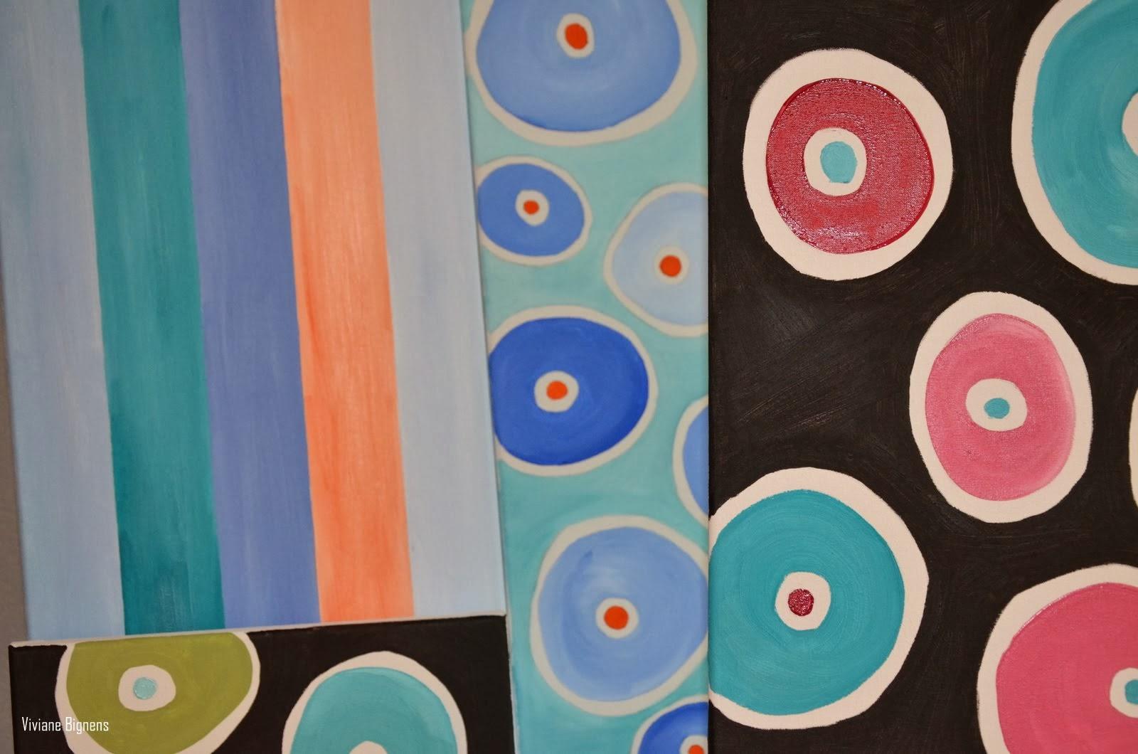 Atelier Carré, Anne Fékih-Morier, peinture
