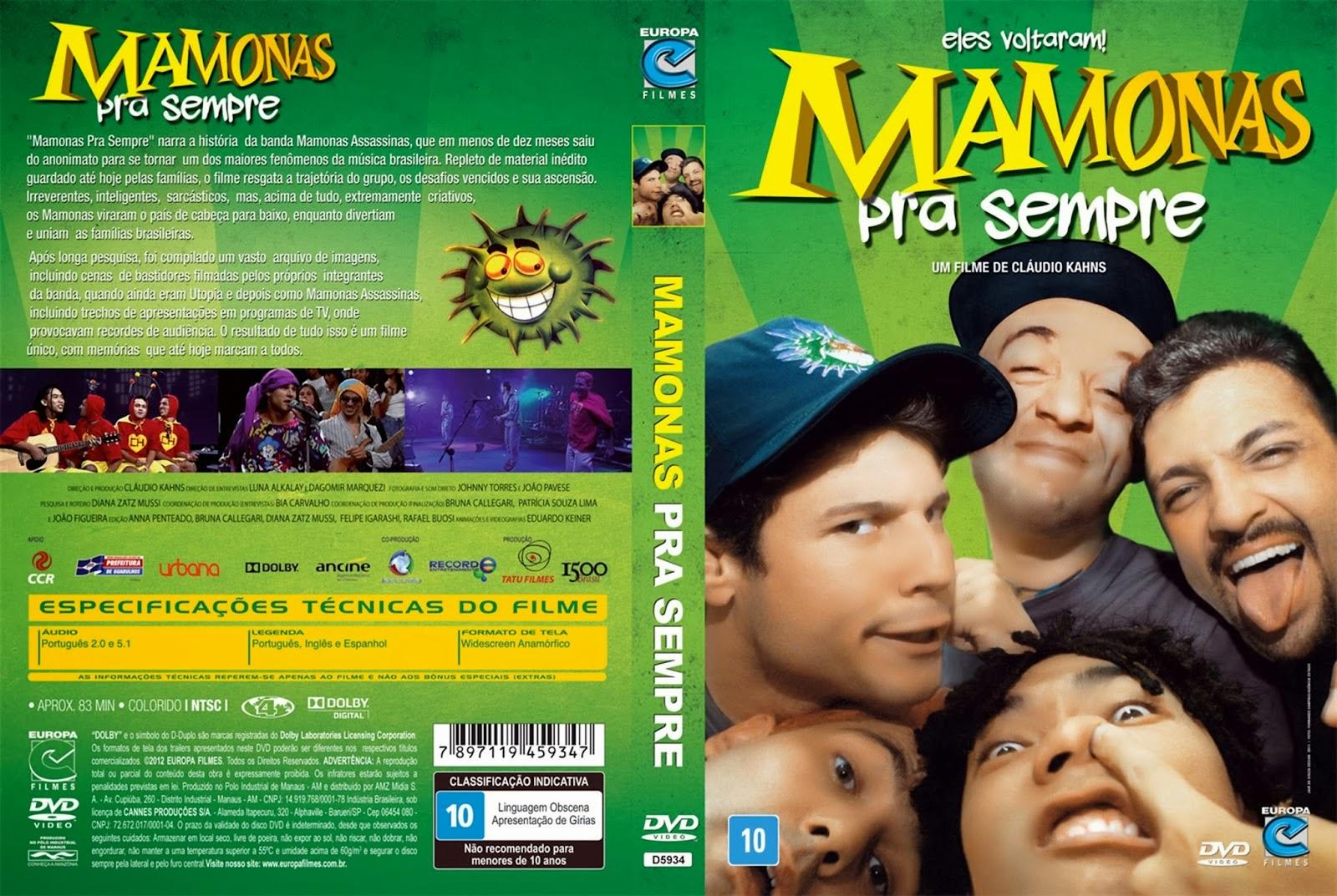 Mamonas Pra Sempre DVDRip XviD Nacional Mamonas Pra Sempre