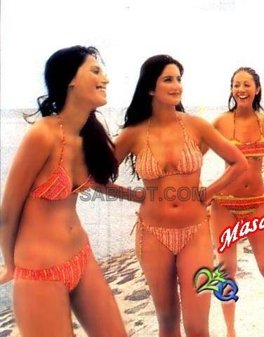 Sexy Bikini on Katrina Kaif Kingfisher Calendar Bikini   Katrina Kaif Bikini Pics