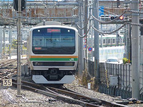 湘南新宿ライン 特別快速 新宿行き E231系