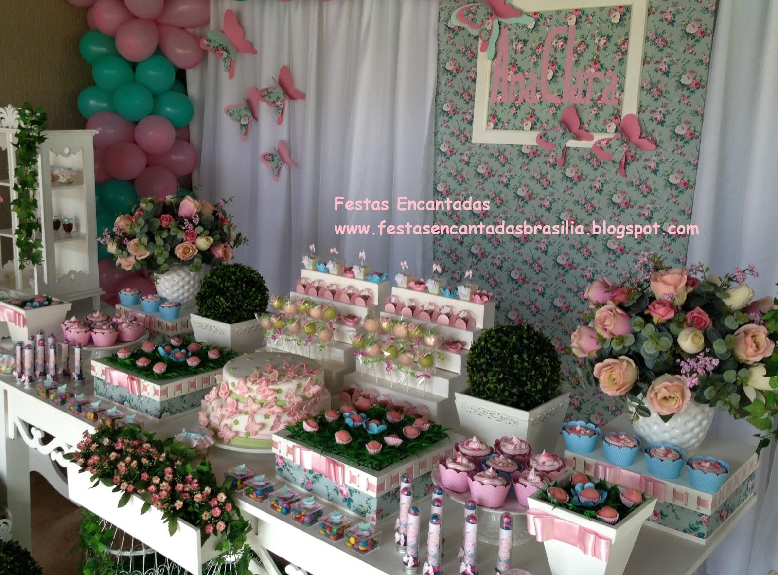 festa jardim rustica:Festas Encantadas Brasília : Jardim das Borboletas!!