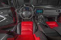 2016 New Chevrolet Camaro SS performance interior view