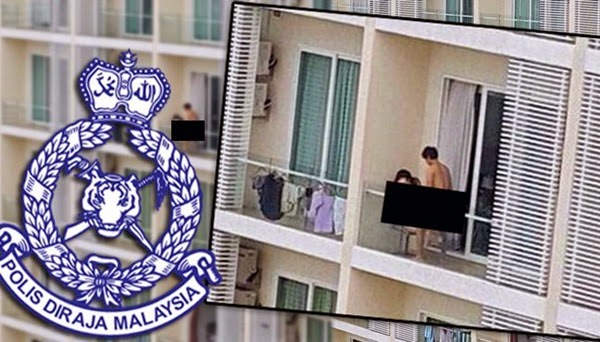 Pelaku seks di balkoni Bangsar South warga asing - Polis